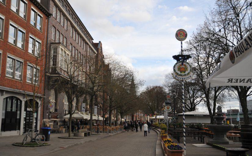 Eröffnung des Bremer Kajenmarkts
